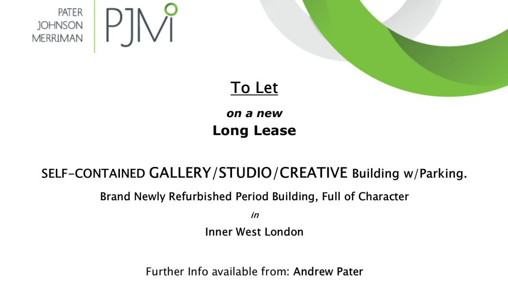 Self-contained GALLERY/STUDIO/CREATIVE Building w/Parking